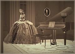 Mozart's Requiem (Moxxie Kalinakova) Tags: sepia vintage classical mozart piano music emotion sad sadness moxxie kalinakova