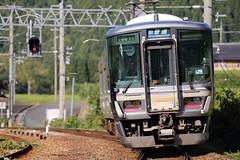 Local train (Teruhide Tomori) Tags: 京都 山陰本線 安栖里駅 223系 電車 列車 jr 鉄道 ローカル線 日本 kyoto japan japon japanrailway aseri 京丹波 和知 wachi kyotanba countryside train traffic railway railroad