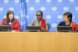 Press Conference on Indigenous Women Defending Human Rights