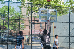 1358_0285FL (davidben33) Tags: brooklyn ny crown height summer 2018 park sport basketball people children 718 plaj joi trees bushes sporting field