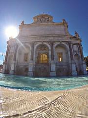 Il Fontanone, Roma (maresaDOs) Tags: rome roma fontana italia fontanone gianicolo gopro goprohero5blk fountain brunnen fonte lazio monumento fuente