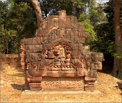 Angkor, Ta Som Temple Fragment 20180203_105203 DSCN2630 (CanadaGood) Tags: asia seasia asean cambodia siemreap angkor tasom temple tree sculpture building architecture archaeology canadagood 2018 thisdecade color colour buddhist khmer