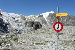 glacier du Mont Collon