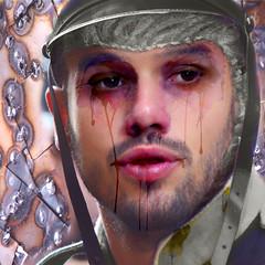 In war as in war - En la guerra como en la guerra (COLINA PACO) Tags: retrato ritratto portrait photoshop photomanipulation fotomontaje fotomanipulación franciscocolina soldado soldier soldat soldato war guerra