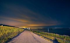 Night time photography - Lelystad Ijselmeerdijk
