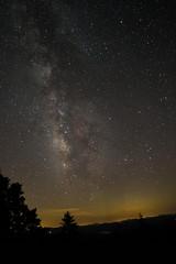 Stars stars stars (Henson Photography) Tags: nighttime nightphotography astrophotography canon rokinon northcarolina blueridgeparkway
