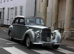 Mr Rolls and Mr Royce (Chris Baines) Tags: bentley manningtree essex 1954 rtype 46 litre automatic