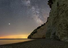 Under the stars (Michele Remonti) Tags: milkyway vignanotica puglia gargano italy stars nightscape night mars astrotracer pentax pentaxda165028