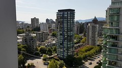 The view from Ross and John's balcony (20180623_162931) ([Rossco]:[www.rgstrachan.com]) Tags: apartment vancouver canada britishcolumbia views balcony