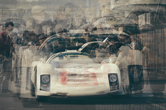 Art and the Automobile (Christopher Mark Perez) Tags: automobiles art lemansclassic lemansclassic2018 france historicracecars historicracing vintageautomobile oldracecars oldcar