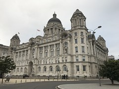 Port of Liverpool Building - Facing The Mersey - Pier Head, Liverpool, England - August 2018 (firehouse.ie) Tags: england merseyside portofliverpoolbuilding pierhead threegraces architecture buildings building liverpool portofliverpool