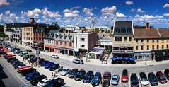 York Street Panoramic (Dan Haug) Tags: yorkstreet ottawa bywardmarket streetview streetphotography fromabove pano panoramic stitch clouds fujifilm xpro2 xf23mmf14r xf23mm