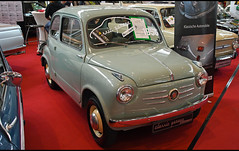 Fiat 600 (1956) (baffalie) Tags: auto voiture ancienne vintage classic old car coche retro expo allemagne german sport automobile racing motor show collection club course race circuit