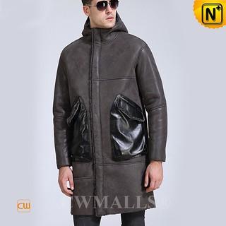 Cyber Monday 2018 | CWMALLS® Oslo Mens Sheepskin Parka Coat CW807667 [Custom Made]