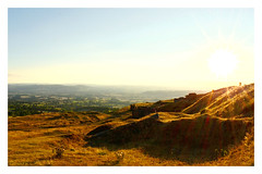 Evening picnic on Titterstone Clee Hill. 18 (Phoenix Knight.) Tags: robindemel picnic sunsetpicnic summersevening august