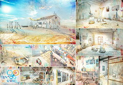 8f8 - Paint me Summer Gacha Collection Presentation (iBi 8f8) Tags: sl secondlife virtuallife 8f8 ibi paint me summer gacha collection july 2018 sea ocean art colors seagulls buoys lighthouses paintings buckets easel oars brushes poles