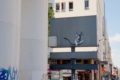Bandit (OliveTruxi (1 Million views Thks!)) Tags: arturbain banksy paris stencilart streetart streetphotography urbanart urbanphotography france