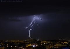 2018.06.21 - 223858 (NIKON D7200) [Amora] (Nuno F. C. Batista) Tags: clouds nuvens amora seixal portugal lusoskies lightning relâmpago thunderstorm trovoada storm night sky nikon severeweather storms photography margemsul skies portuguese meteorology cumulunimbus d7200