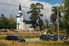 Kirche von Ornö (KL57Foto) Tags: 2018 juli july kl57foto omdem1 olympus schweden sommer summer sverige sweden schären schäreninsel schärengarten ornö archipelago