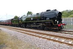 Scarborough Spa Express - 35018 British India Line (Malton 2018) (scribblernick) Tags: scarborough spa express 35018 british india line