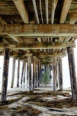 Capitola Boardwalk Underside (Luke Robinson) Tags: 2018 beach california capitola highway1 northerncalifornia usa coast coastal landscape