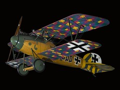 Albotros D.Va (Smithsonian National Air and Space Museum) Tags: aviation german aircraft albotros dvaaviationgerman wwi worldwari airandspacephoto nationalairandspacemuseum military