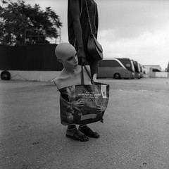 ... (johnny walker no label) Tags: blackwhitephotography bw mediumformat mamiyac220 streetphotography street bazaar