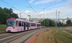 Sheffield Supertram 118, 28th. July 2018. (Crewcastrian) Tags: sheffield tram 118 stagecoach transport