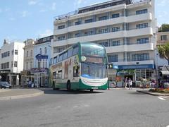 Stagecoach South West 15864 (Welsh Bus 18) Tags: stagecoach southwest scania n230ud adl enviro400 15864 wa62anu torquay strand hop22