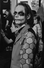 Joker (Ankh61) Tags: joker batman dc black white cosplay coaket hamburg leica m2