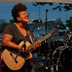 Brittany Howard (lucymagoo_images) Tags: camden new jersey xpnfest wxpn xponential music festival concert band stage performers live musician sony rx100 guitar singer