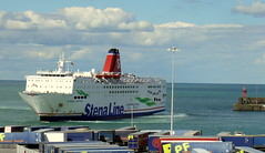 18 08 10 Stena Europe arriving Rosslare (24) (pghcork) Tags: stenaline ferry ferries carferry stenaeurope ireland wexford rosslare ships shipping