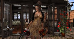 high tea (nicandralaval1) Tags: unitedcolors fashion secondlife secondlifefashion besom hair womenonlyhunt gift freebies hunt andika poses soulidentity 7deadlyskins eniiposes fancydecor 8f8 axlpro theloftaria collabor88 outputevent littlefox saturdaysale poz thefreedove lelutka maitreya mesh bento skin hannahkoslowski justanimals jewelry choker sunglasses gato {whatnext} nsp