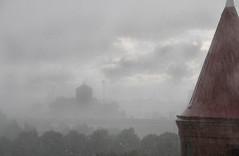 The end of a three month heatwave (Benedictus Schwartze) Tags: rain view climate gothenburg sweden skansenlejonet clouds