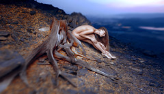 Roots of Karabash (Paul Mühlbach) Tags: girl root roots nude