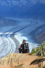 Great path (Victo-photo) Tags: glacier human swiss switzerland 瑞士