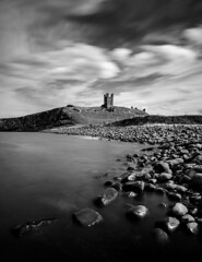 Secrets from the North (Lloyd Austin) Tags: dunstanburgh castle embleton northumberland north coast landscape seascape sea englishheritage england basalt boulders black white grey le longexposure longexposurephotography slowexposure exposure exposed abandonedexposed coastline coastal sky clouds cloudscape craster secretsfromthenorth bw bnw blackwhite blackandwhite mono monochrome tide tripod cablerelease zomei ndfilter 10stopnd sigma sigma1750mm d7200 dramatic nikon moody motion