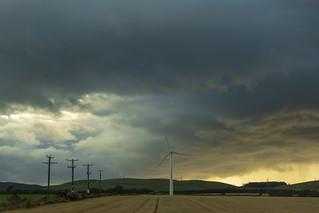storm clouds...