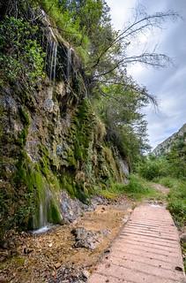 Cascada - LED  - Ruta Foces del Río Pendón