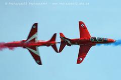 8413 Synchro (photozone72) Tags: raf redarrows reds rafat redwhiteblue eastbourne airshows aircraft airshow aviation hawk canon canon7dmk2 canon100400f4556lii 7dmk2 synchro