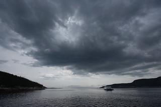La Rivière Saguenay, à l'embouchure