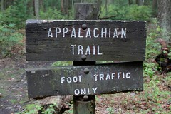 trail sign (RonTheG) Tags: appalachian trail