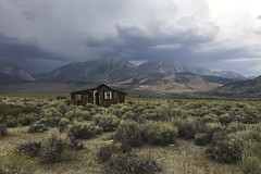 Abandoned (brucetopher) Tags: building flickrfriday house abandoned prairy mountains storm weather sage valley cloud