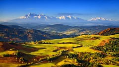 Green Meadows (stano szenczi) Tags: slovakia pieniny tatry green meadows mountains autumn