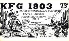 44000037 (myQSL) Tags: cb radio qsl card 1970s dptheviking