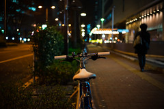 Handle (hidesax) Tags: handle bikeinthecity shinjuku tokyo japan night nightscape cityscape hidesax sony a7ii voigtlander 40mm f14