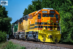 Westbound MNA Manifest Train at Independence, MO (Mo-Pump) Tags: train railroad railfan railroader railway railroading railroads locomotive