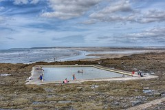 Tidal pool (Nige H (Thanks for 25m views)) Tags: nature landscape seascape beach pool tidalpool devon westwardho england southwestengland summer sea ocean waves
