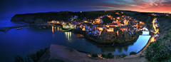 Staithes Panoramic (hapulcu) Tags: greatbritain unitedkingdom angleterre britain buttermere cumbria england gb herbst inghilterra inglaterra staithes uk yorkshire automne autumn autunno høst otoño toamna