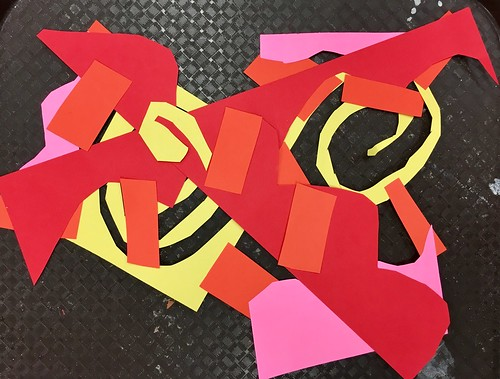 """2nd grade Matisse Cutouts • <a style=""""font-size:0.8em;"""" href=""""http://www.flickr.com/photos/57802765@N07/43775683121/"""" target=""""_blank"""">View on Flickr</a>"""